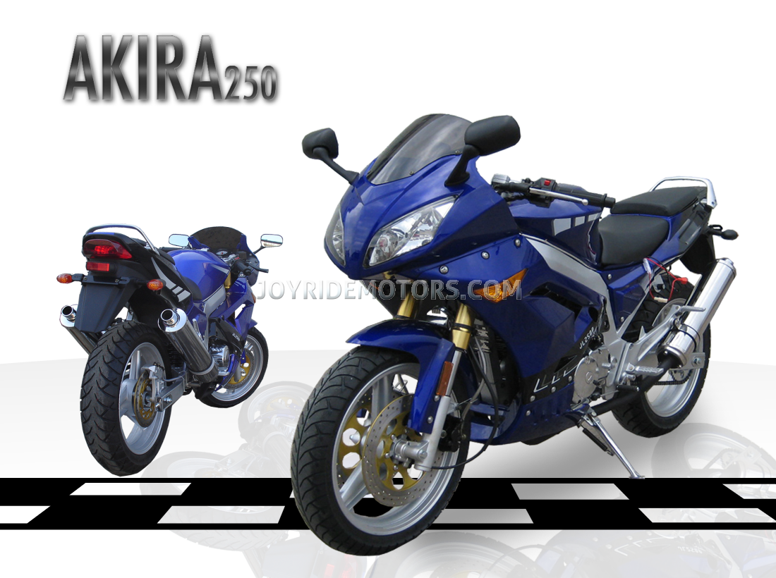 akira 250cc motorcycle akira motorcycle for sale joy ride motors. Black Bedroom Furniture Sets. Home Design Ideas