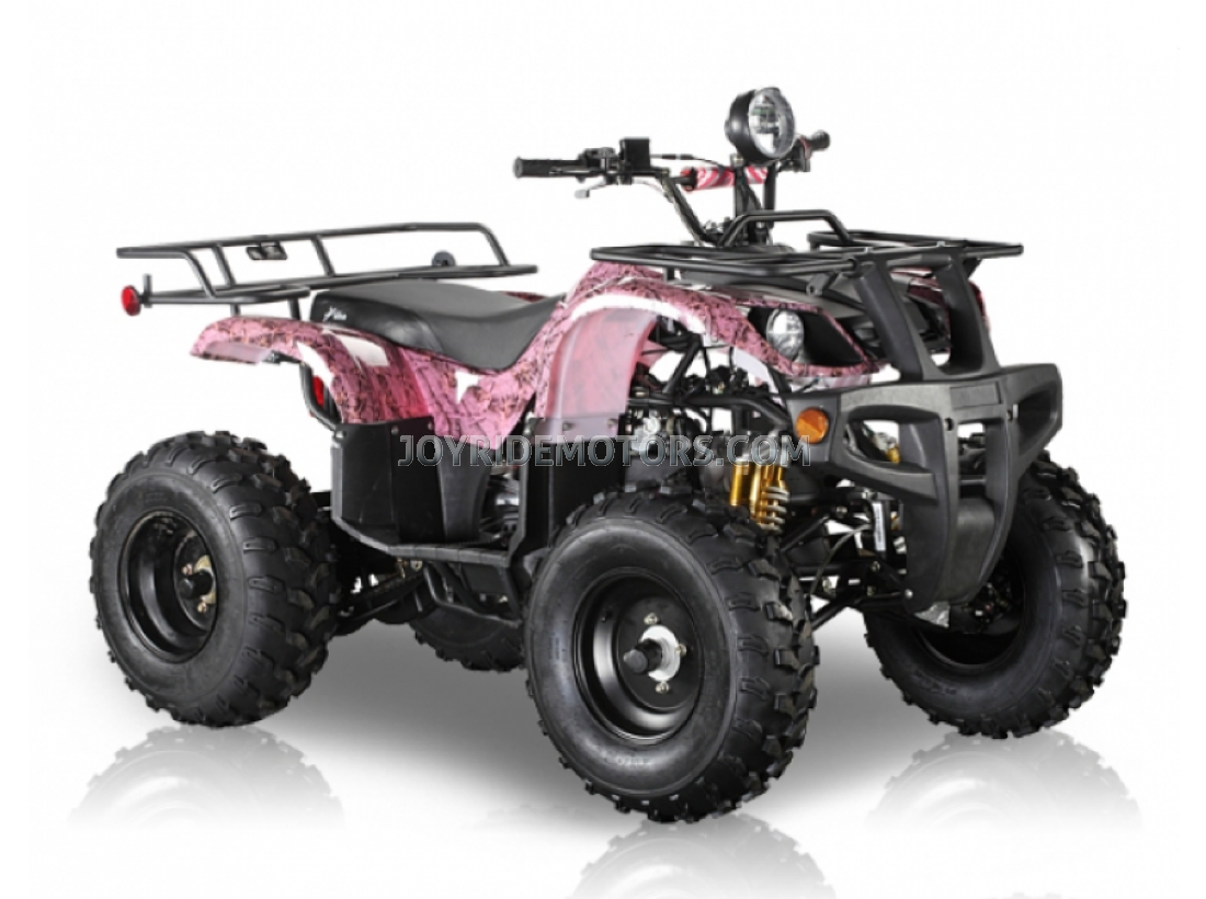 pink four wheelers for kids