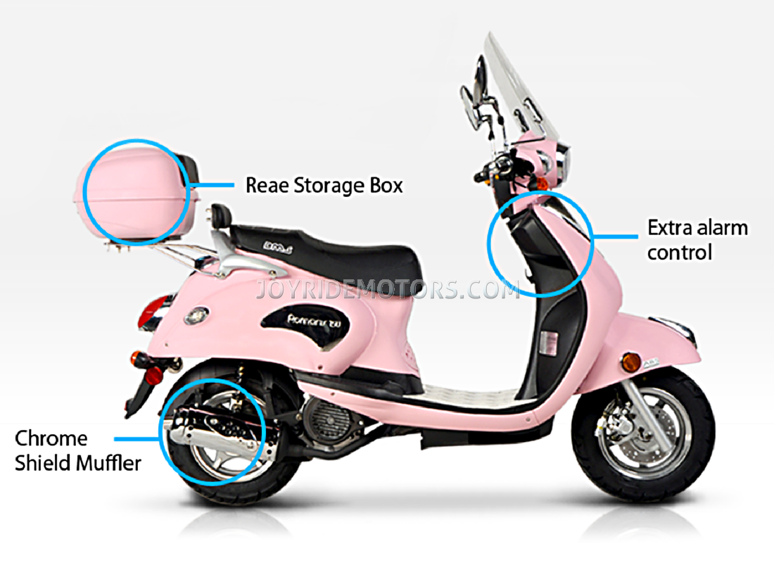 150cc Scooter Pink Bms 150cc Scooter Type