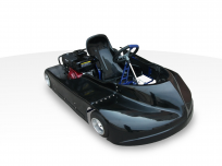 FLYING SAUCER OVAL TRACK RACING GO-KART